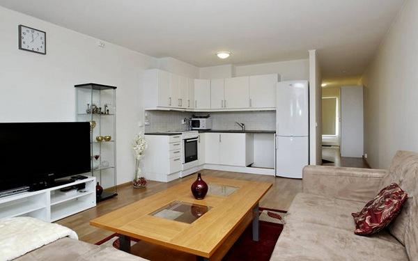 Дизайн кухни с гостиной в квартире 20 кв м